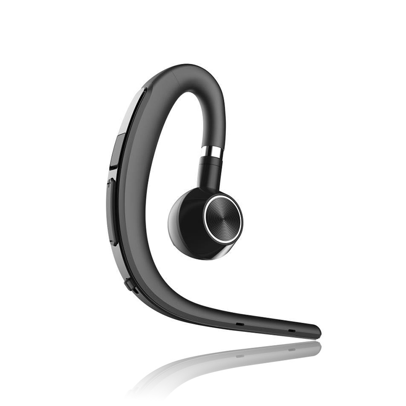 Y3+ Bluetooth Earphone Handsfree Ear Hook Wireless Headsets V4.1 Noise Cancelling HD Mic Music For Android/IOS Cellphone black