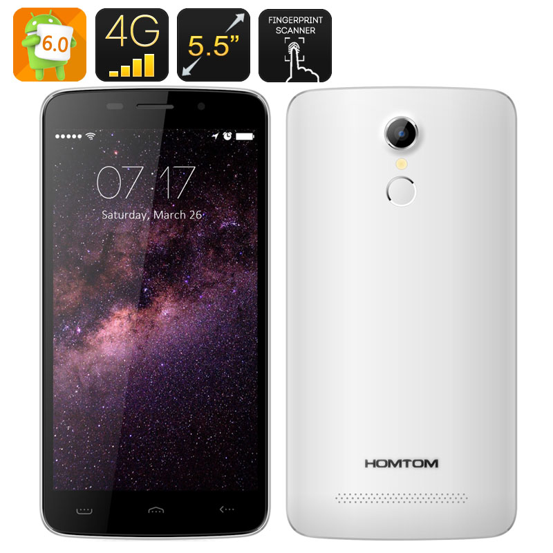 HOMTOM HT17 Android 6.0 Smartphone (White)