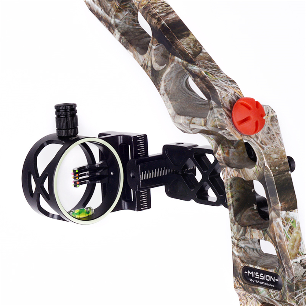Five-needle  Sighting Compound Bow Quick-tuning Aiming Outdoor Archery Accessoires As picture show