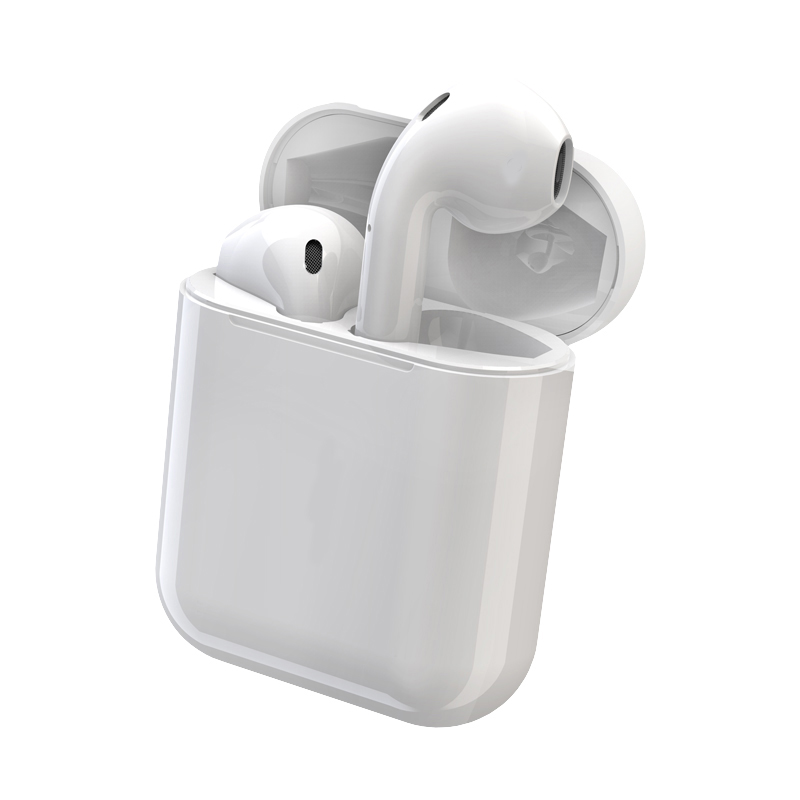 TWS i10-Touch  Bluetooth Earphone - White