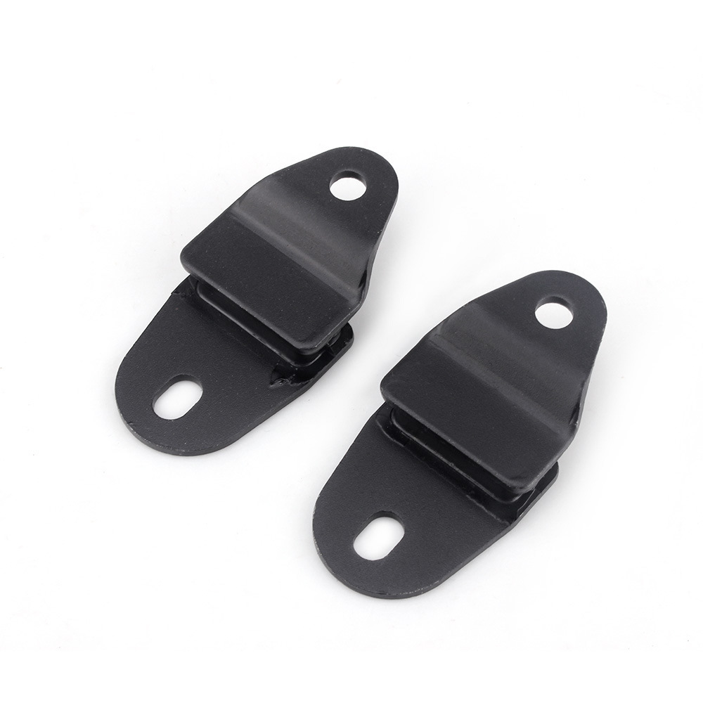 Car Exhaust Pipe  Retainer For Banshee 350 Yfz350 Oe:2gu-14771-00-01 Black_2 pieces
