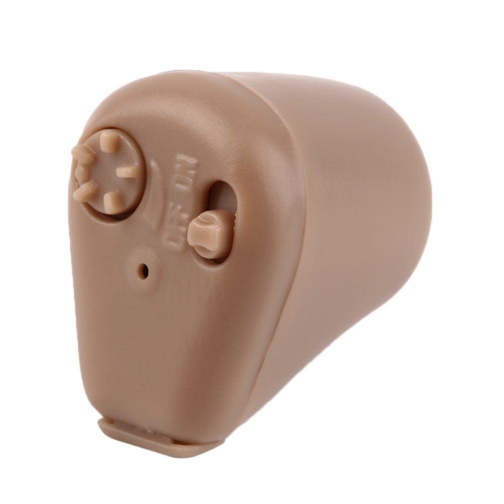 K-88 Hearing Aids Rechargeable Mini Hearing Aid Sound Amplifier Invisible Hear Clear For Elderly Deaf U.S. Plug