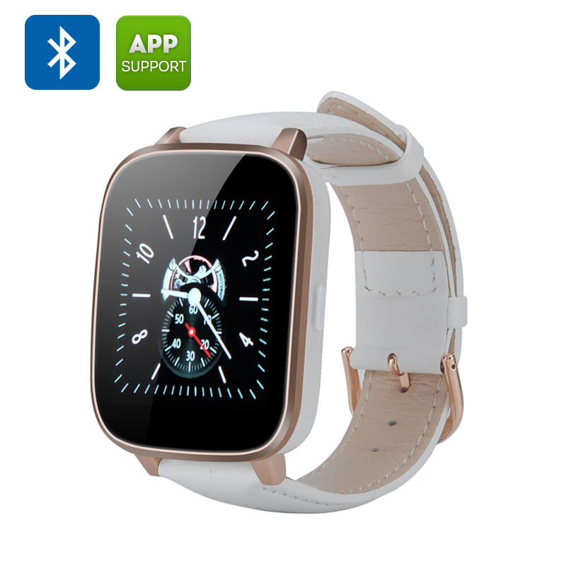 3D Screen Bluetooth Smart Watch (White)