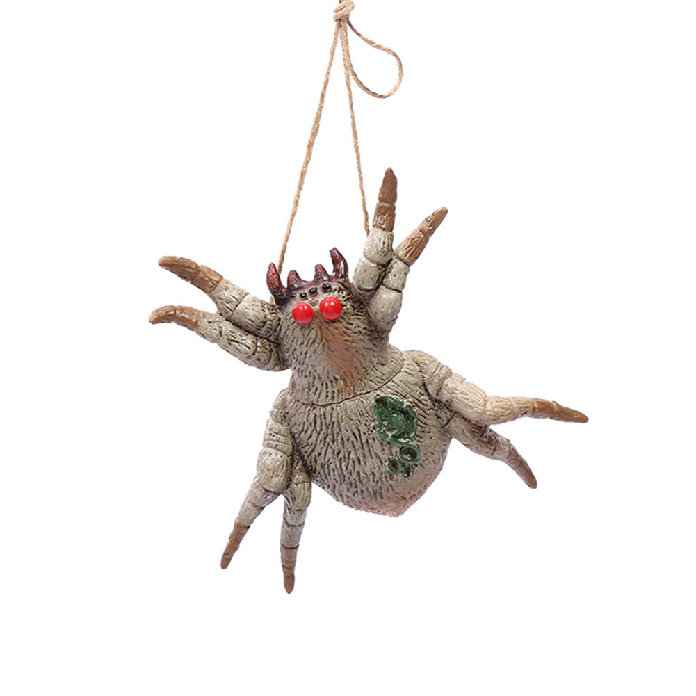 Tricky Joke Fake Animal Shape Prop Halloween Toy Party Decor Poisonous spider