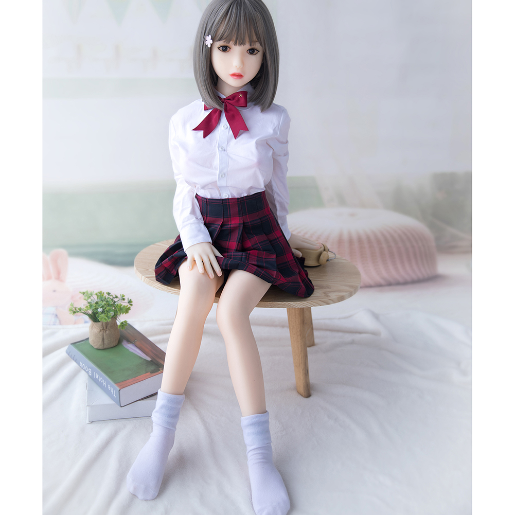 TPE Sex Adult Japanese Girl Love Lifelike Anime Oral Vagina Full Pussy Big Breast 110cm