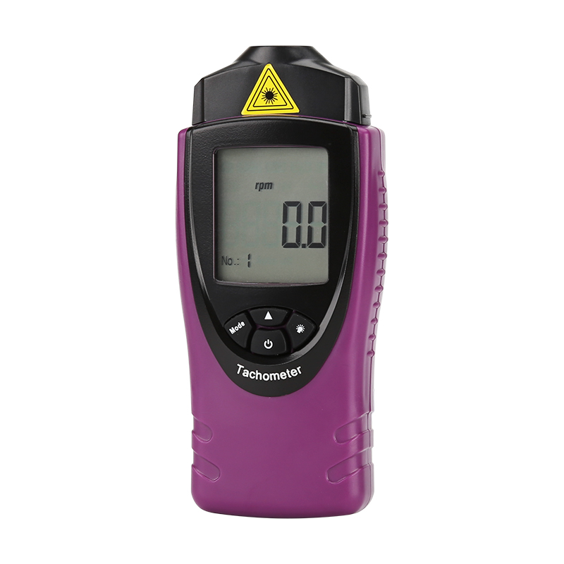 Digital Laser Tachometer - rps + rpm Measurment, 0.02% Accuracy, 400mm Range