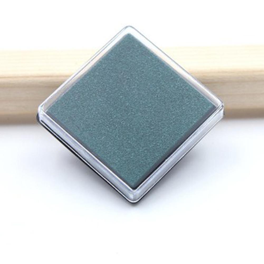Inkpad for Kids DIY Scrapbooking Crafting Random Color    Dark green