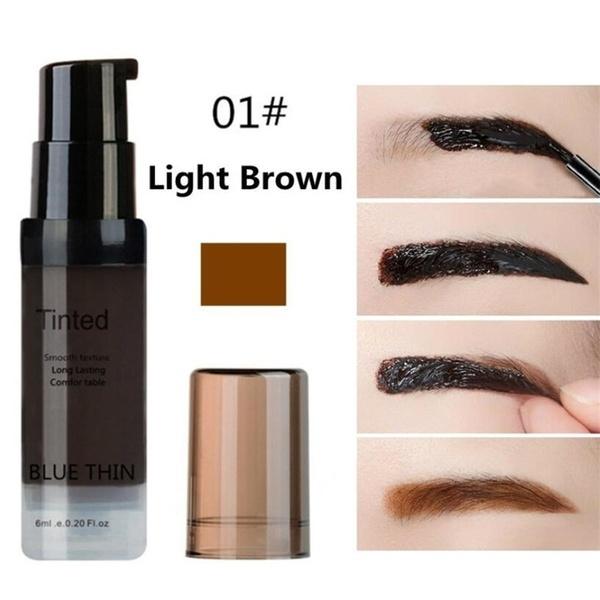 Women Eyebrow Dye Gel Waterproof Peel Off Eye Brow Wax Long Lasting Tint Shade Make Up Cosmetic 01