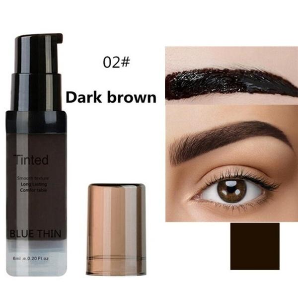 Women Eyebrow Dye Gel Waterproof Peel Off Eye Brow Wax Long Lasting Tint Shade Make Up Cosmetic 02