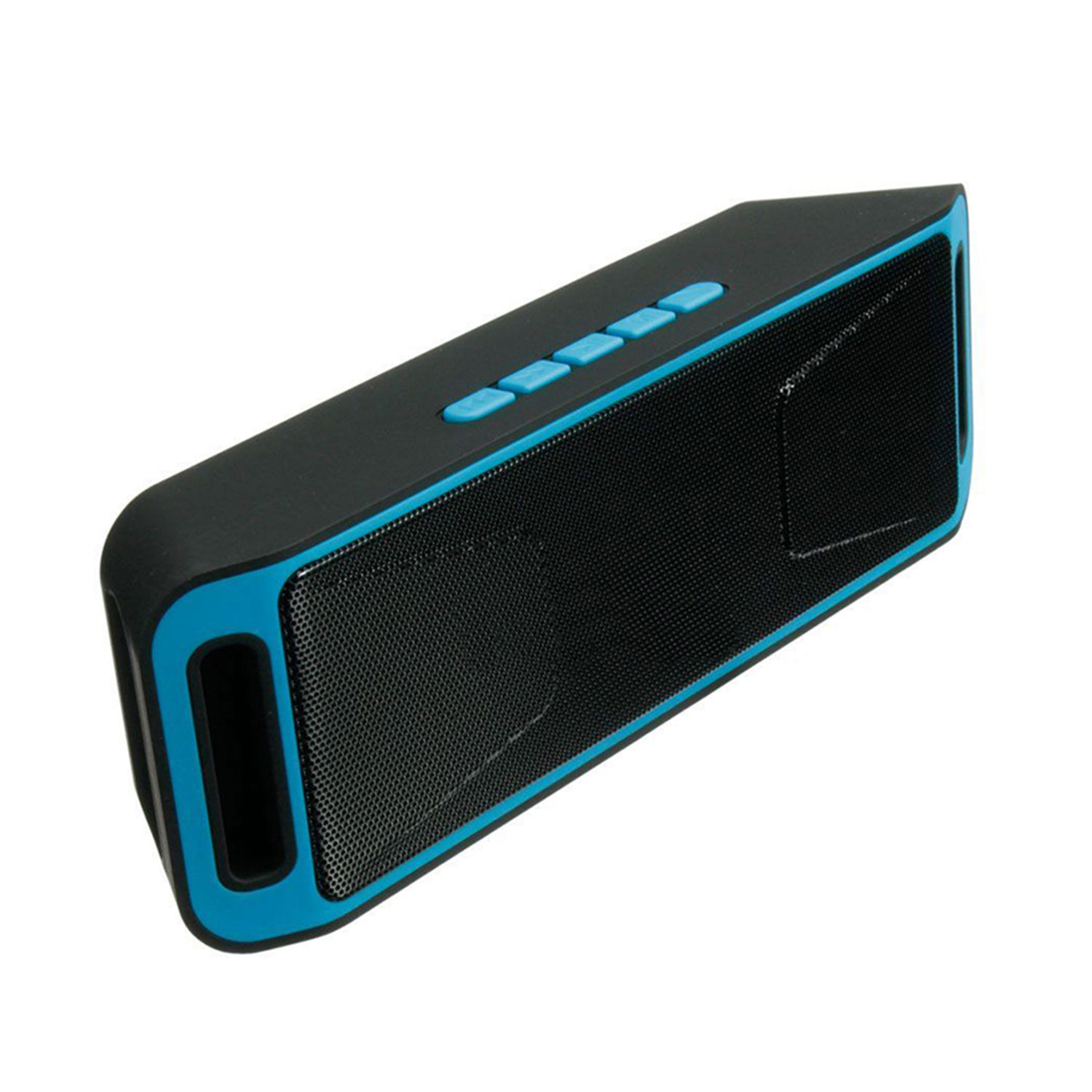Wireless Bluetooth Speaker USB Flash FM Radio Stereo MP3 Player Support TF Card Blue