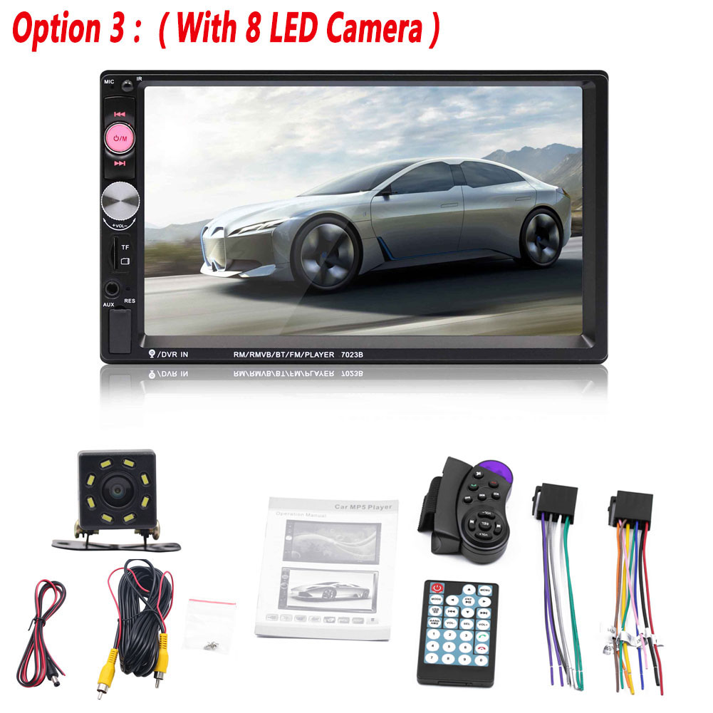 Universal Car Multimedia Player Autoradio Stereo 7