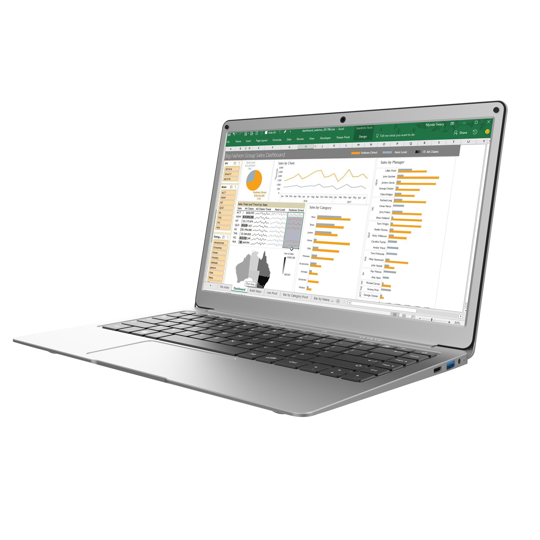 New Jumper Ezbook X3 Notebook 8gb 128gb 13.3 Inch 1920*1080 Ips Screen Intel Ultra Slim Laptop Win10 2.4g/5g Wifi 8+128G