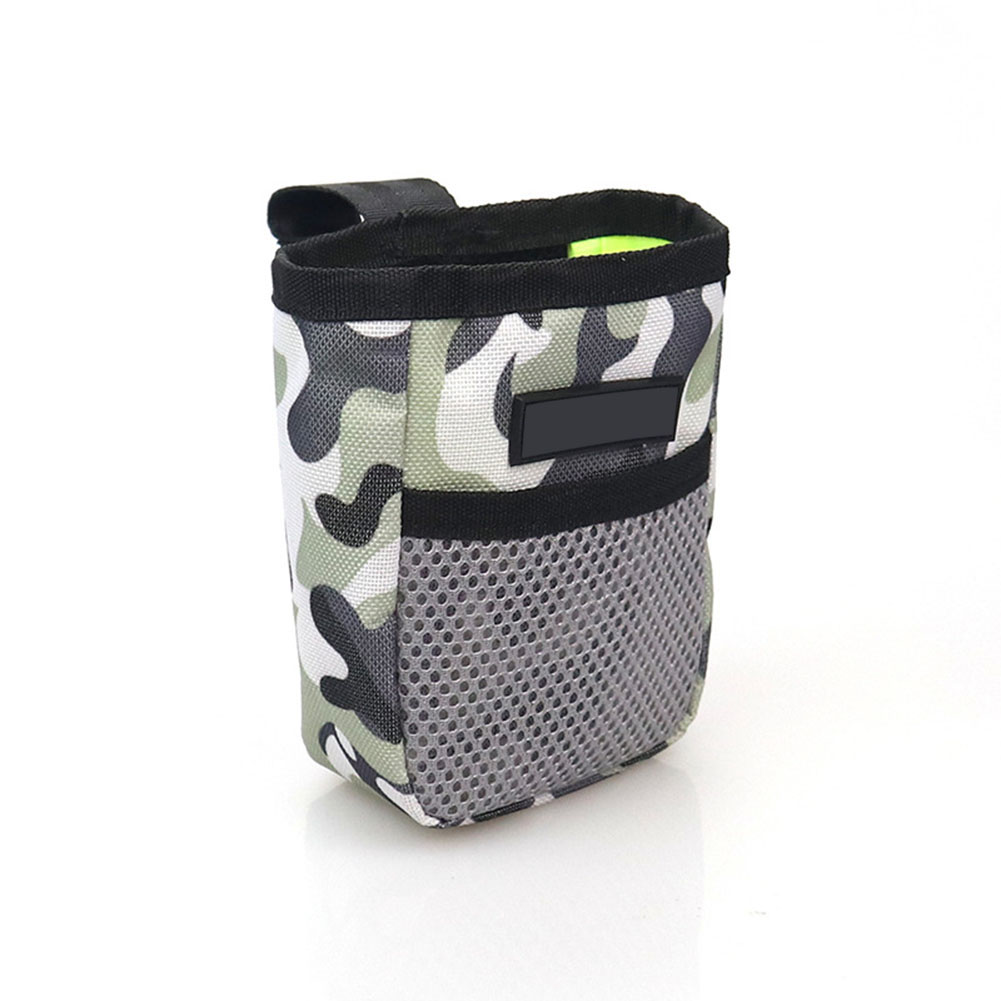 Portable Pet Summer Mini Waist Snack Bag for Outdoor Training Camouflage