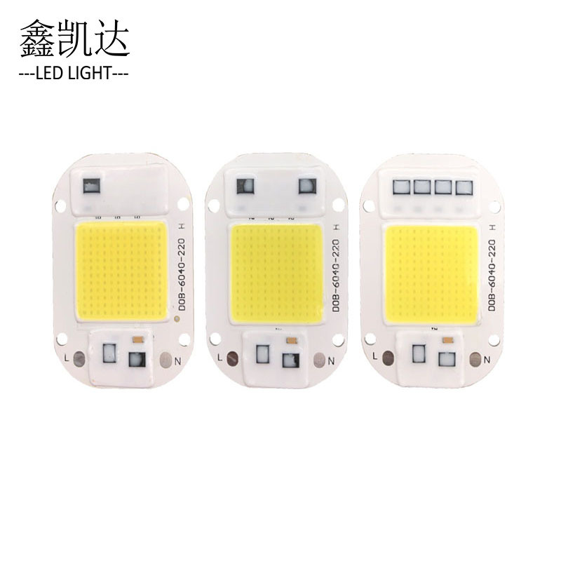 LED COB Lamp Chip High Pressure Bulb Bead 220V Plant Growth Bead 30W-6500K