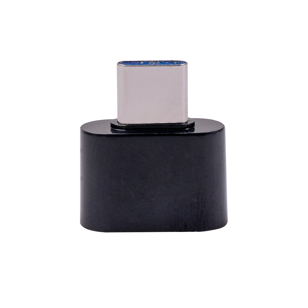 Type-c To Usb2.0 OTG Adapter Portable Converter Adapter For Charger Mouse Keyboard Flash Disk 1344t Black