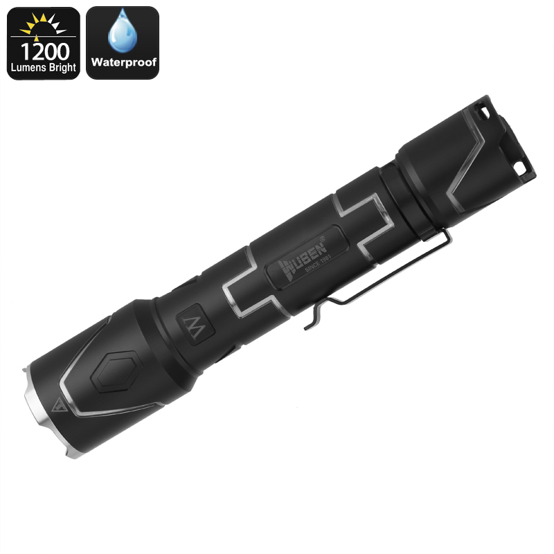 Wuben I333 Iron Man Tactical Flashlight
