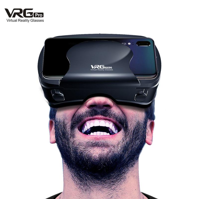 Virtual Reality VR Glasses black