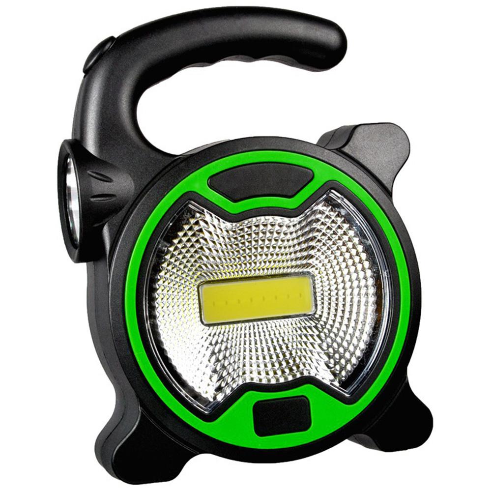 Outdoor Handheld Portable Searchlights COB Mini Tent Lamp  green