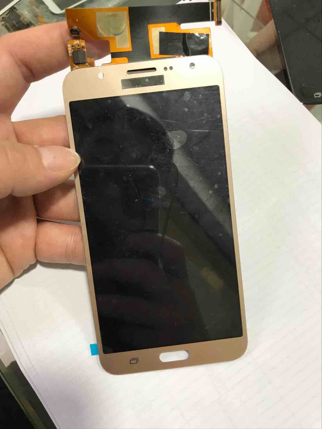 LCD Digitizer for Samsung J7 - Gold