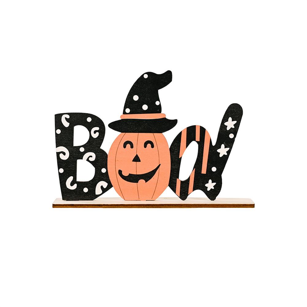 Ghost Festival Ornaments Alphabet Desktop Halloween  Style  Print  Decorations BOO