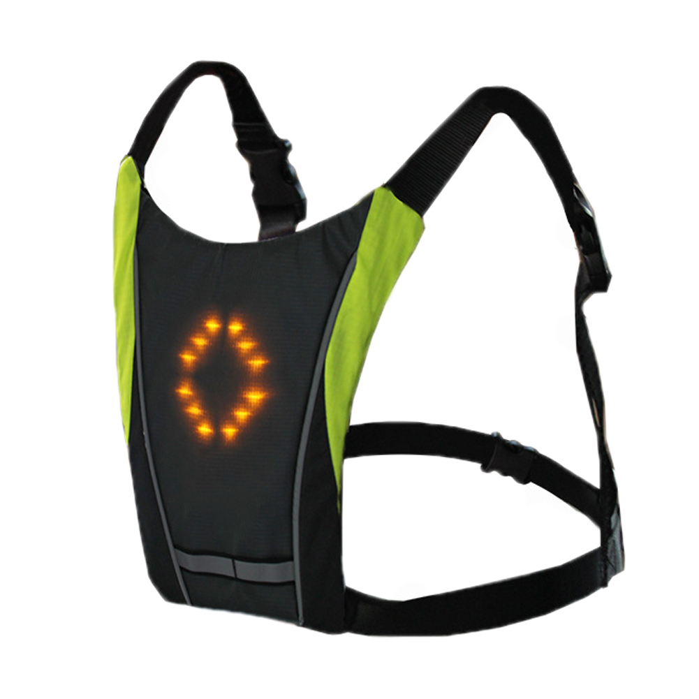 LED Wireless Safety Turn Signal Light Vest