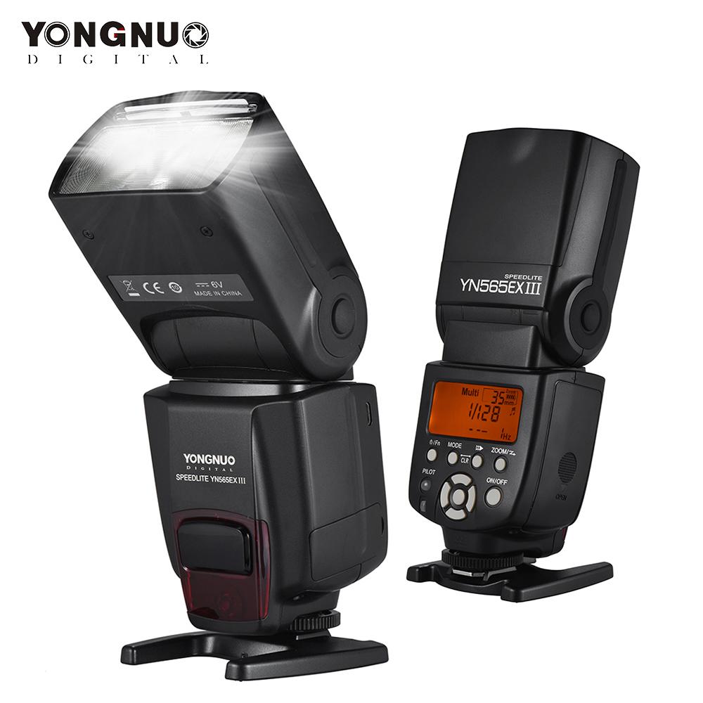 YONGNUO YN565EX III Flash Speedlite Wireless TTL Slave Flash Speedlite High Speed Recycling System Nikon interface