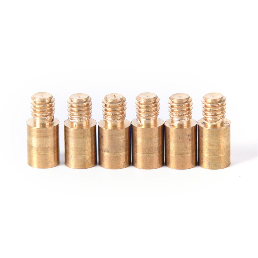 1.5G Copper 2BA Thread Dart Weight Add Tool Accentuator Dart Accessories 6PCS/Set  Golden