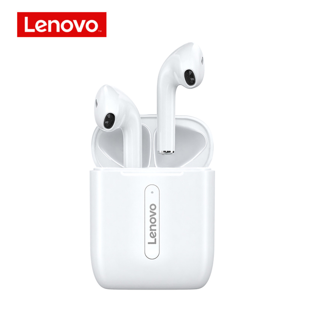 Original LENOVO X9 Tws Earbuds Bluetooth 5.0 Earphones True Wireless Headphones Touch Control Sport Headset white