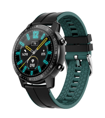 Unisex Smart  Watch S30 Sleep Activity Monitor Call Sms Alerts 360mah Smartwatch Sports Watch Dark green