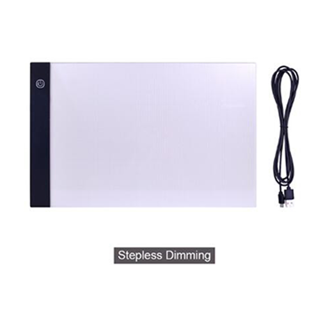A4 LED Drawing Digital Tablet Art Tablet USB Writing Board Painting Copy Board Graphic Light Box Panel