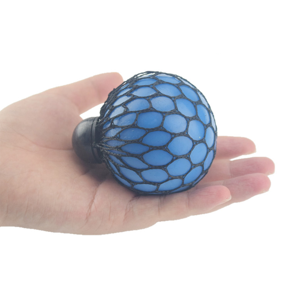 1 Pcs Soft Rubber Grape Ball Funny Relief Soothing Fidgets Toy Vent Toy for Children and Adults