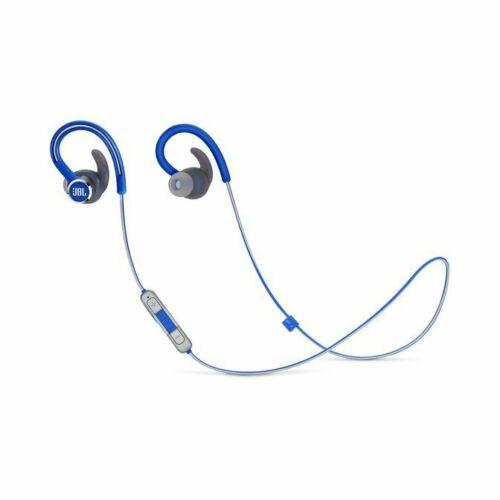 Bluetooth Earphone JBL Reflect Contour 2.0 Ear Hook Type Wireless Bluetooth Professional Sports Headset blue