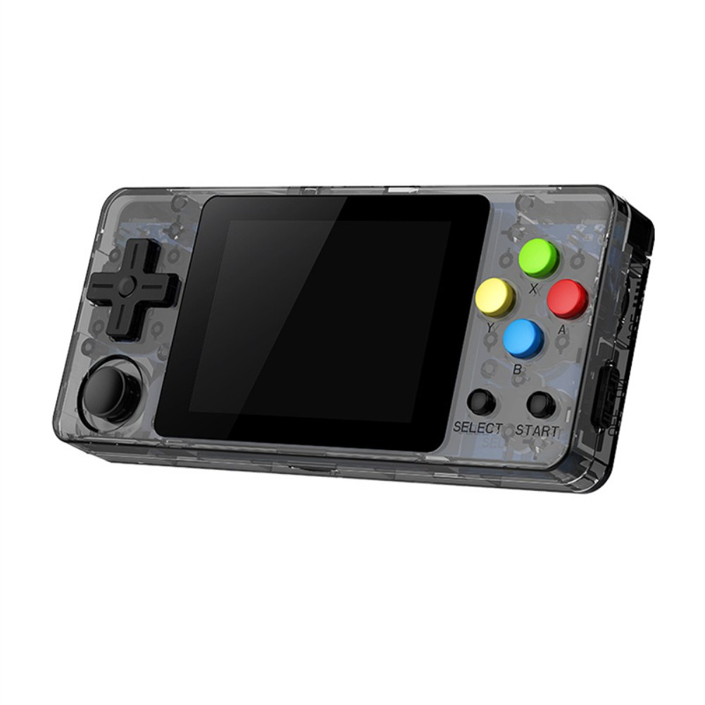 Mini RETRO GAME Rocker Nostalgia Palm Game Machine FC Transparent Black