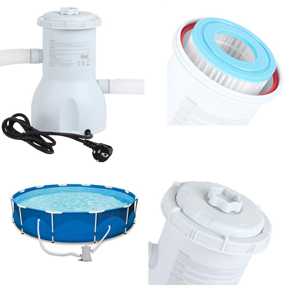 Swimming Pool Filter Pump Reusable Pool Filter Pump Water Cleaner Electric Filter Pump European regulations