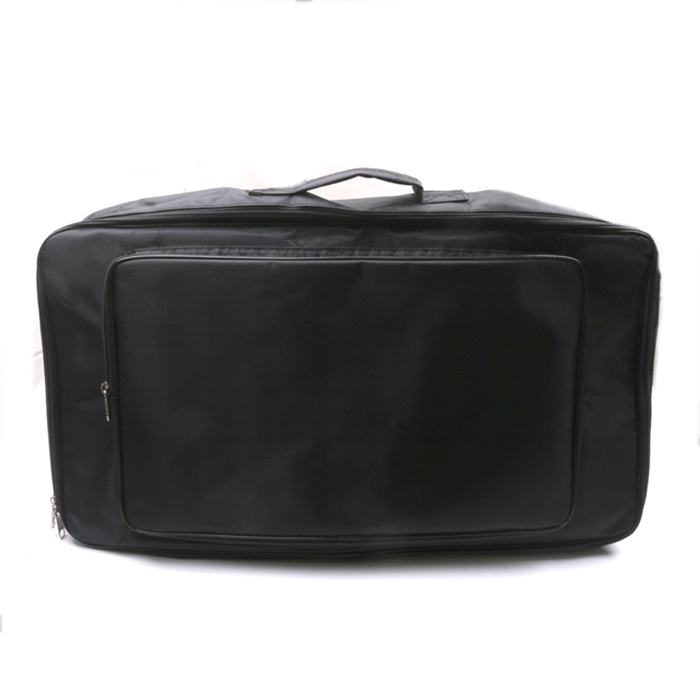 Universal Portable Guitar Effects Pedal Board Gig Bag Soft Case Big Style DIY Guitar Pedalboard Pouch black