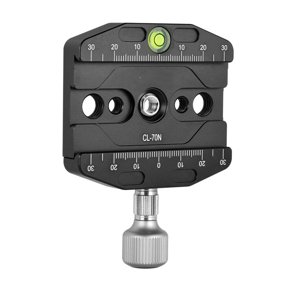 CL-70N 70mm Quick Release QR Plate Clamp black