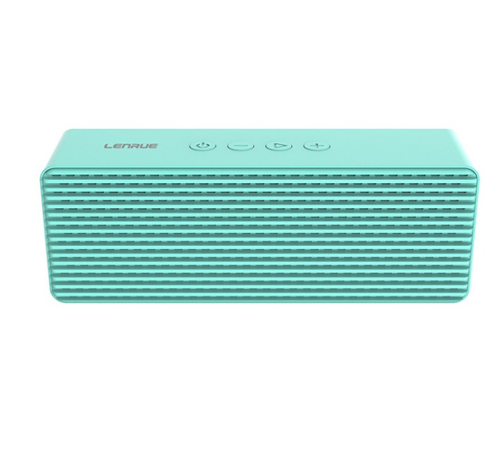A12 Portable Wireless Speakers with HD Sound Longer Playtime Built-in Mic for iPhone/Samsung/Andriod/PC blue