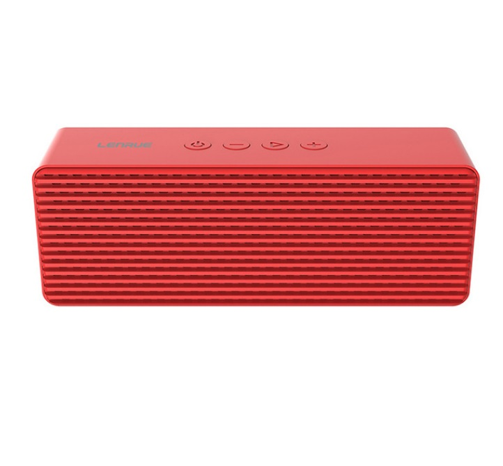 A12 Portable Wireless Speakers with HD Sound Longer Playtime Built-in Mic for iPhone/Samsung/Andriod/PC red