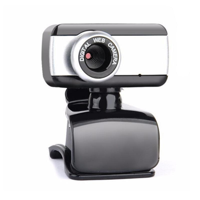 HD Webcam 480P Portable Web Cam Built-in Microphone For Skype Desktop Computer USB Plug Play Laptop black