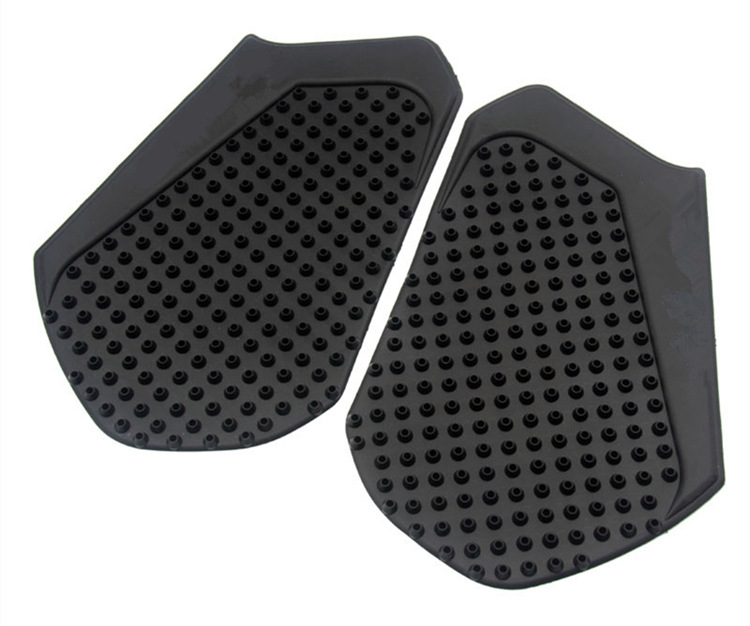 1 Pair Motorcycle Side Oil Box Anti Slip Protector Pad for HONDA CBR600RR 13-16 black