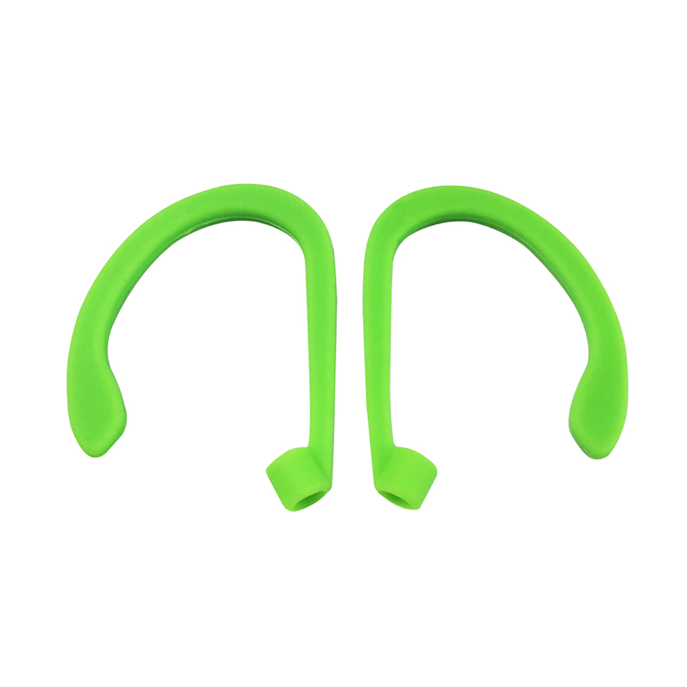 Earphone Hook Suitable for Airpods Headset Portable Anti-lost Silicone Earphone Ear Hook Green