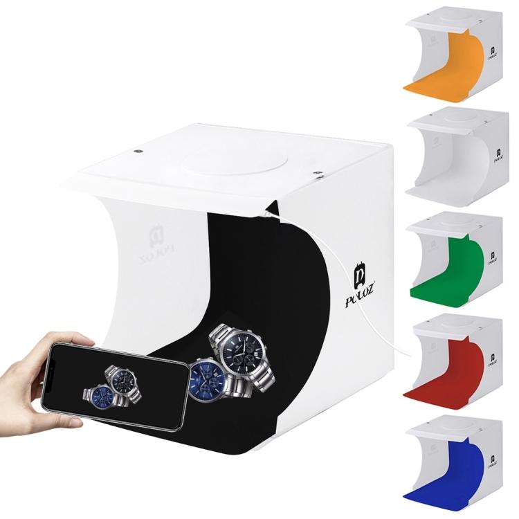 PULUZ Mini Photo Studio Box 20cm Portable Photography Shooting Light Tent Kit for Product Display  20*20