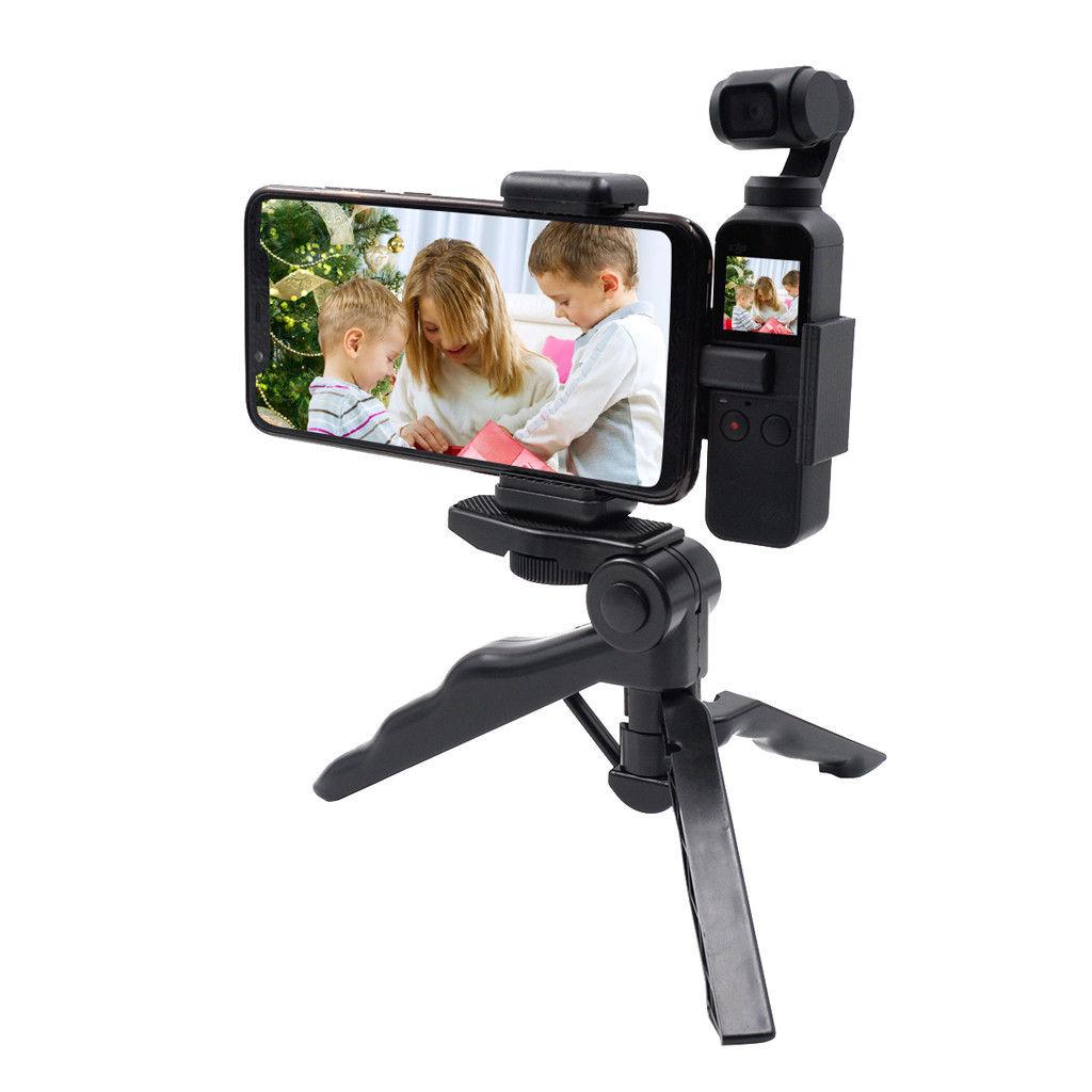 STARTRC For DJI OSMO Pocket Extended Camera Tripod Bracket Mount Phone Holder Accessory  black