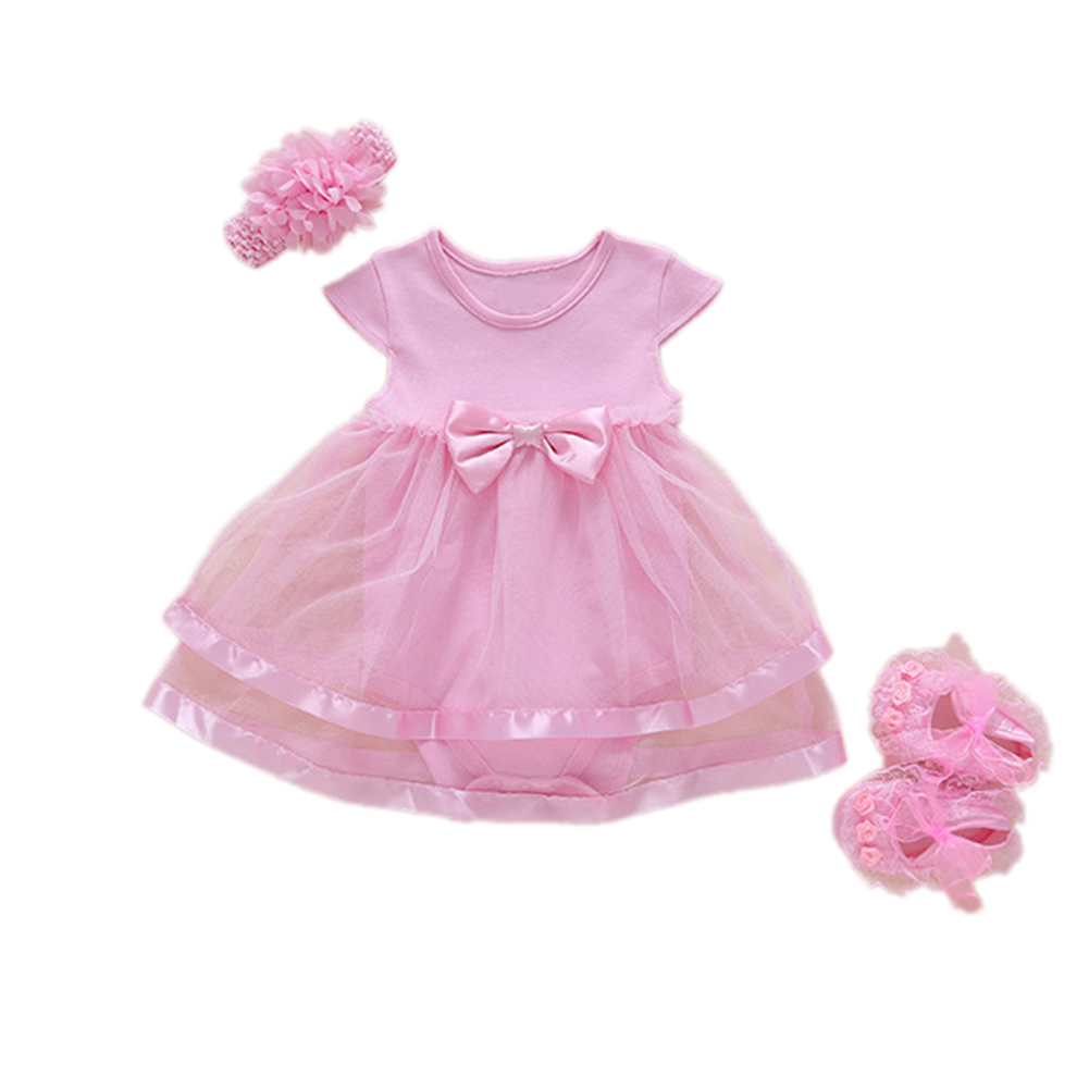 Baby Girls Infant Lace Party Dress Set