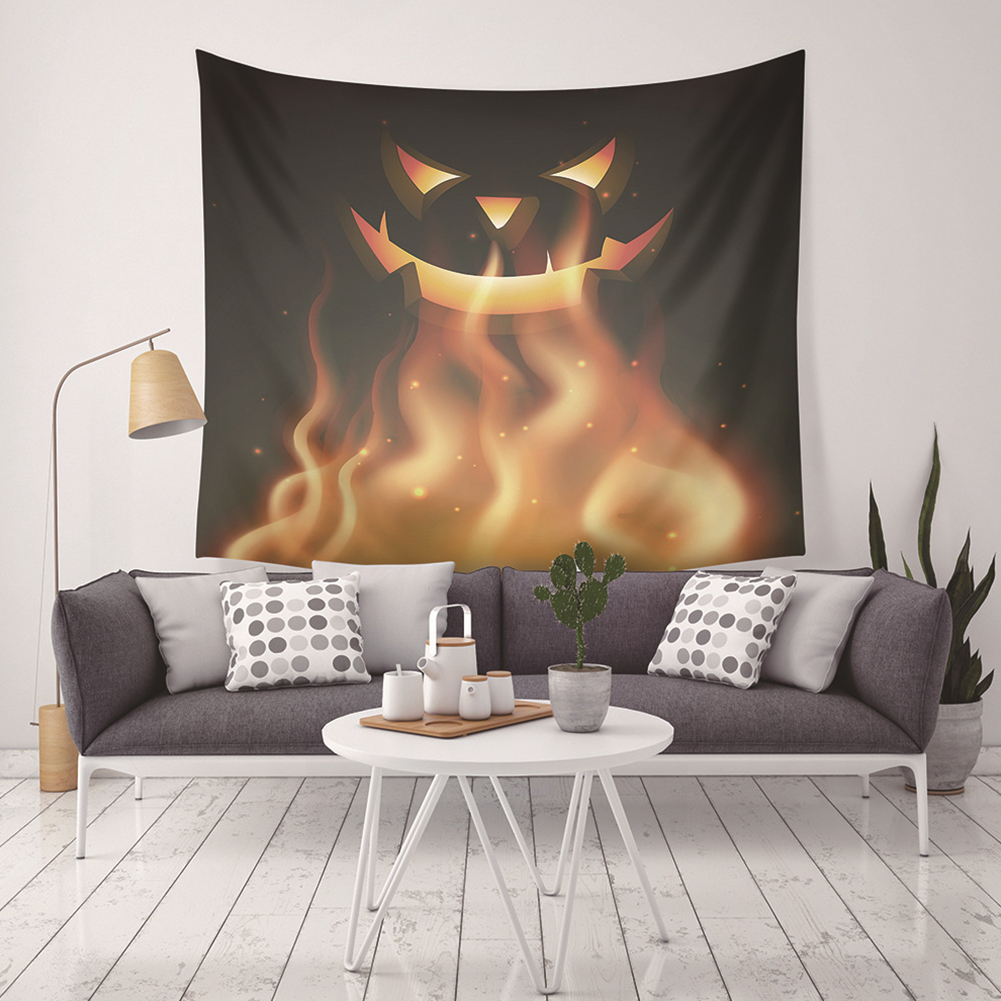 Holloween Printed Tapestry Blanket