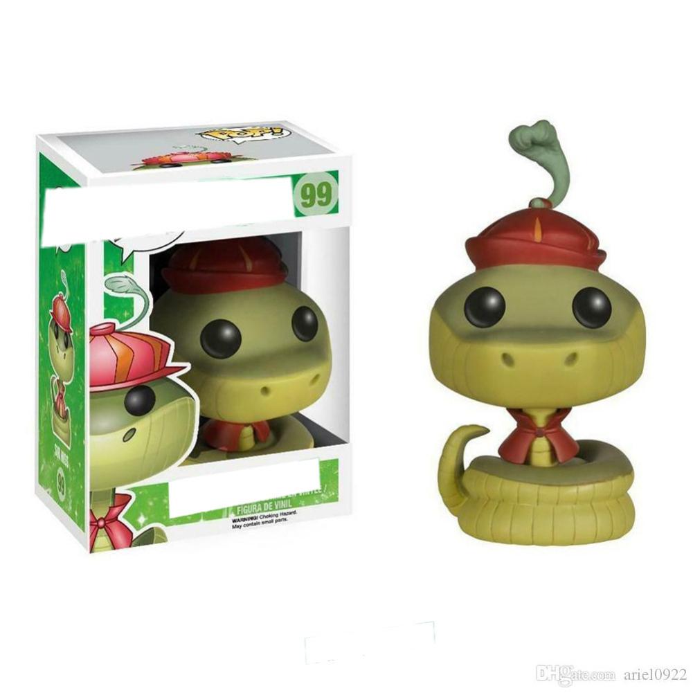 FUNKO POP Robin Hood Squirrel Snake Chase Figure Vinyl Figure Doll Ornament POP 99 # Snake