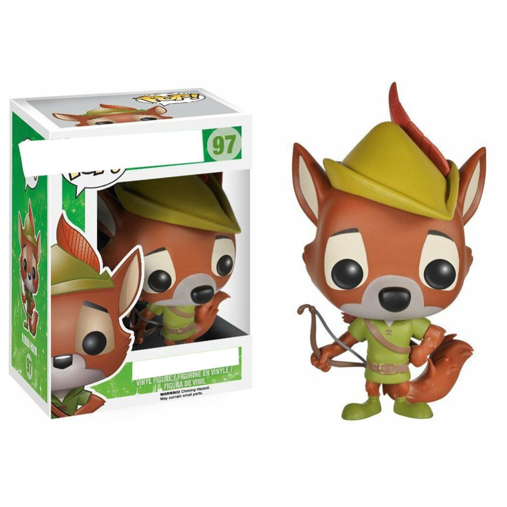 FUNKO POP Robin Hood Squirrel Snake Chase Figure Vinyl Figure Doll Ornament POP 97 # Robin Hood