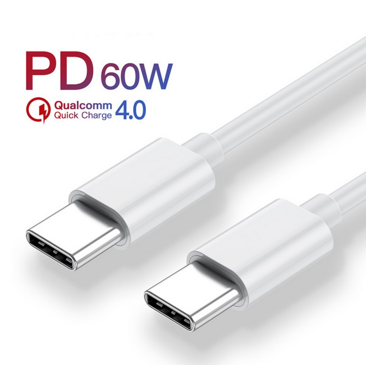 Fast Charger Type C to Type C Fast Charging Cable for Huawei P30 P20 Pro Lite Mate20 1.5 meters