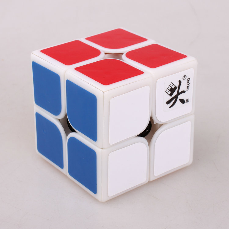 [US Direct] DaYan 2x2x2 I - White Body for Speed Cubing (50x50mm) (difficulty 8 of 10)