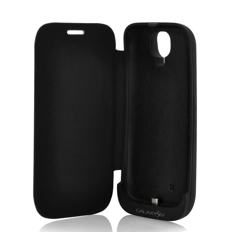 3000mAh Battery Case + Cover for Galaxy S4